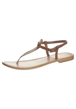 NARVIL - T-bar sandals - brown