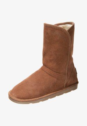 CARMEN - Kotníkové boty - camel