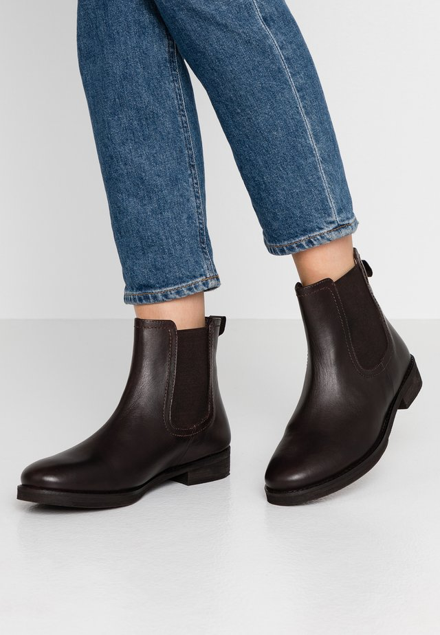 ANSELM - Classic ankle boots - marron