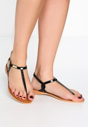 BILLY - Sandály s odděleným palcem - noir