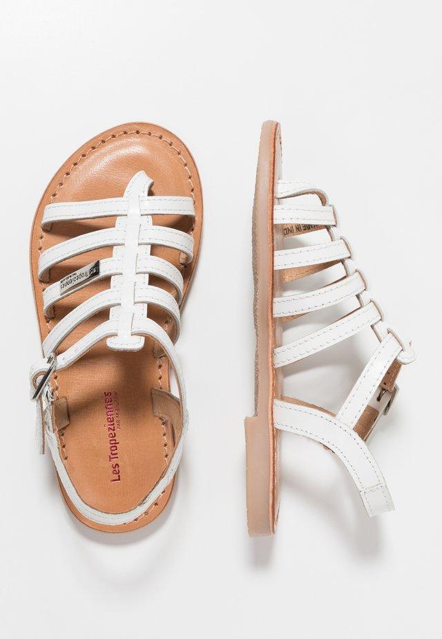 HIRSON - Sandály s odděleným palcem - blanc