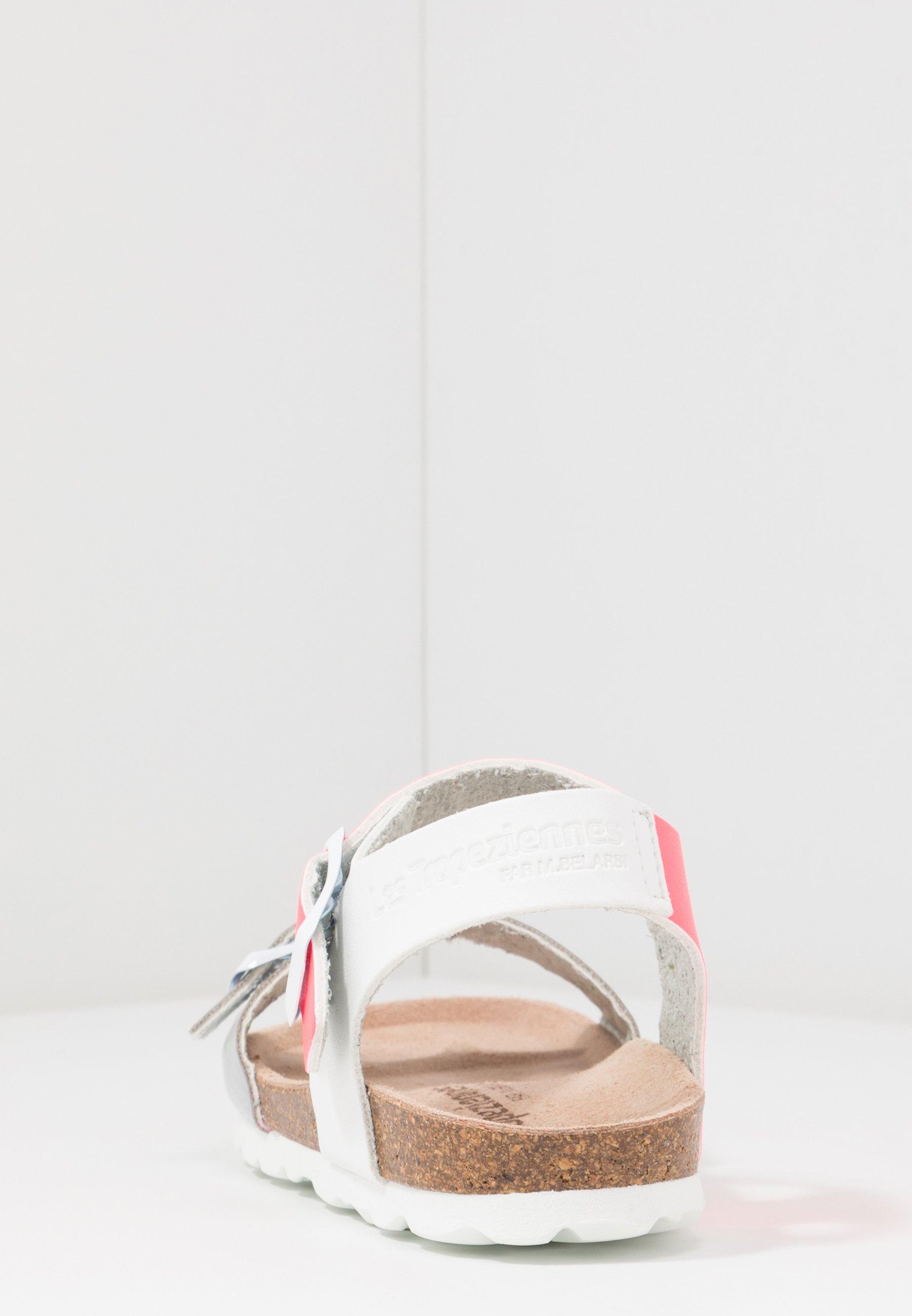 Les Tropéziennes par M Belarbi PISTACHE - Sandały - argent/rose