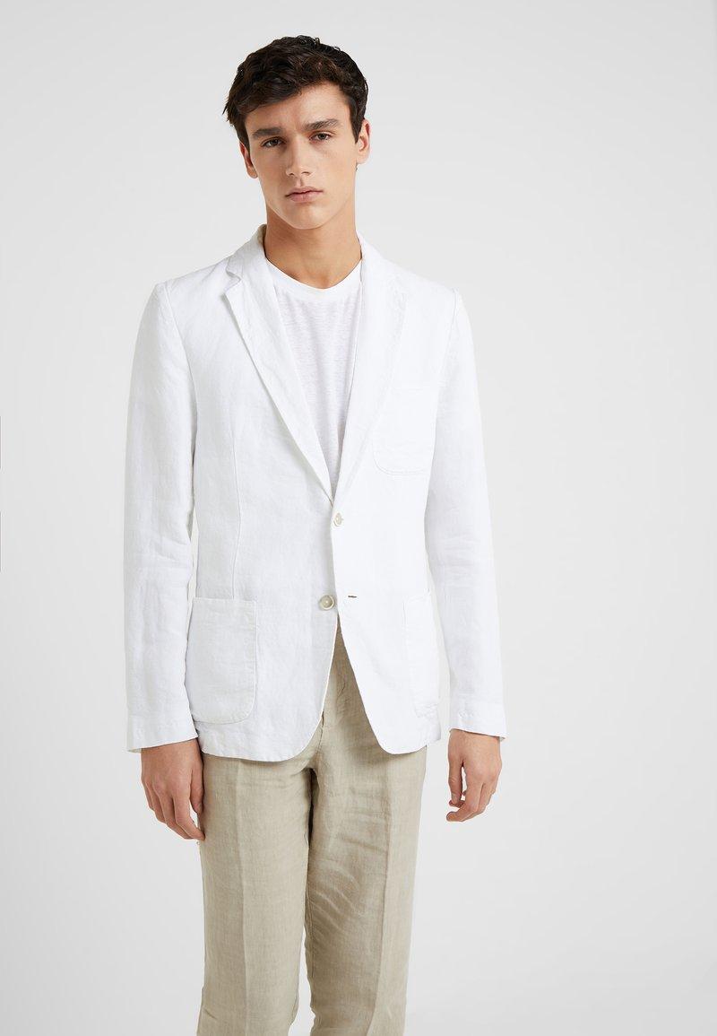 120% Lino - GIACCA - blazer - white