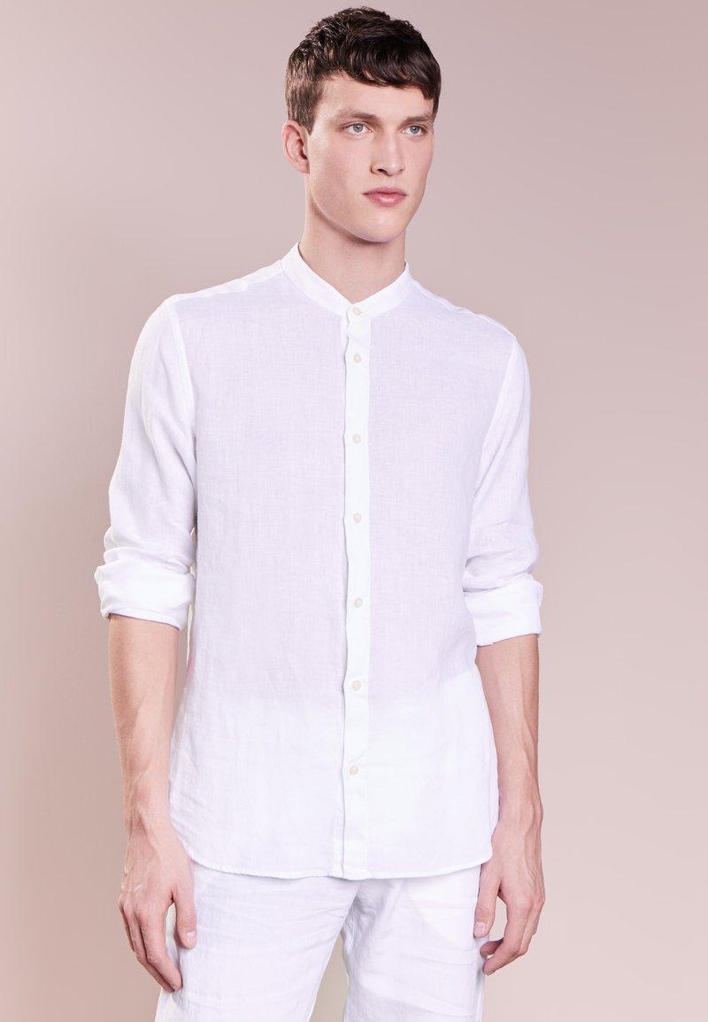 120% Lino - CAMICIA UOMO GURU - Overhemd - white