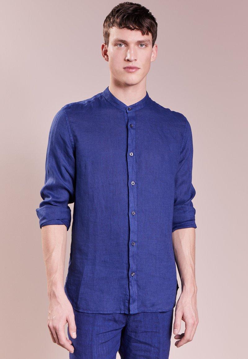 120% Lino - CAMICIA UOMO GURU - Overhemd - crown blue