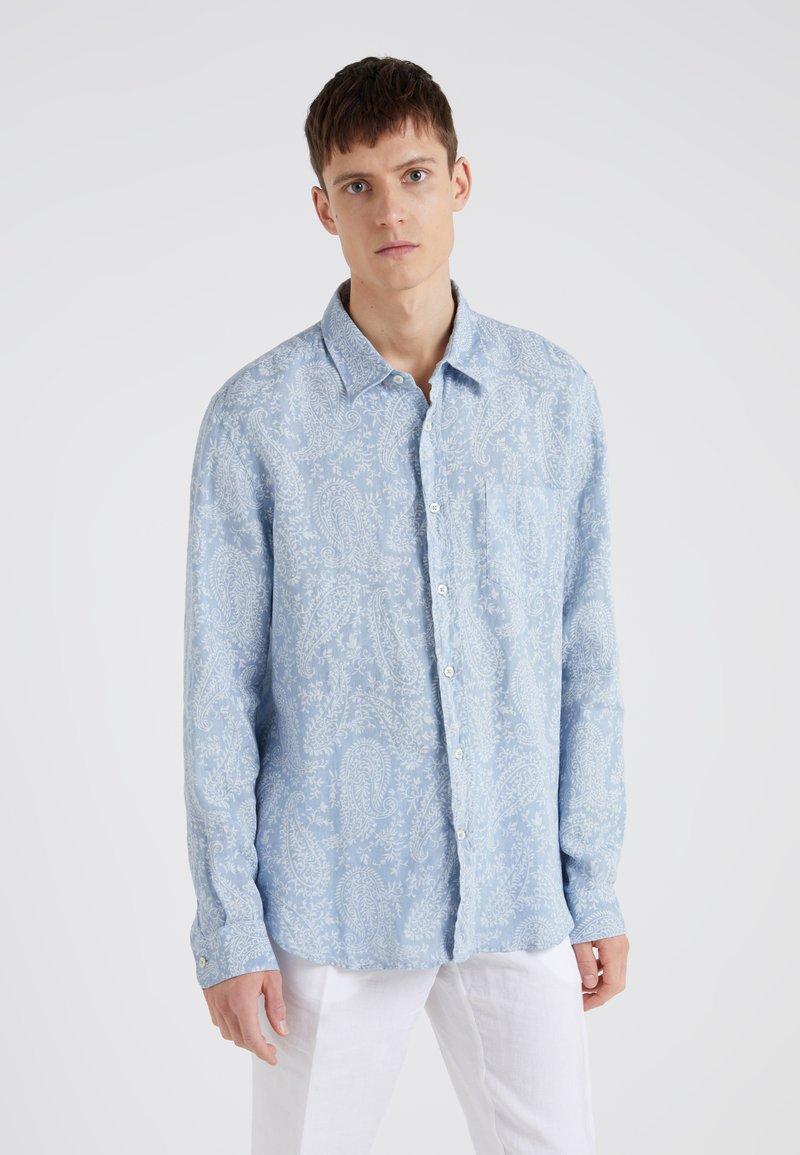 120% Lino - CAMICIA REGULAR FIT - Skjorte - dark blue