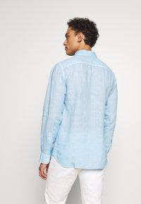 120% Lino - Shirt - blue soft fade - 2