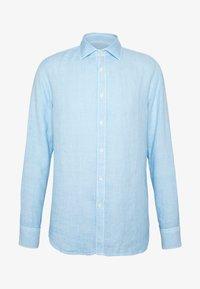 120% Lino - Shirt - blue soft fade - 4