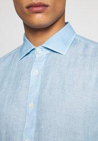 120% Lino - Shirt - blue soft fade - 5