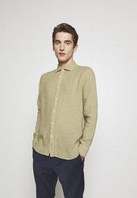 120% Lino - Shirt - olive - 0