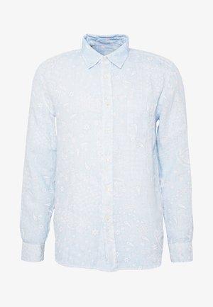 PRINT PAISLEY - Shirt - pacific blue soft fade