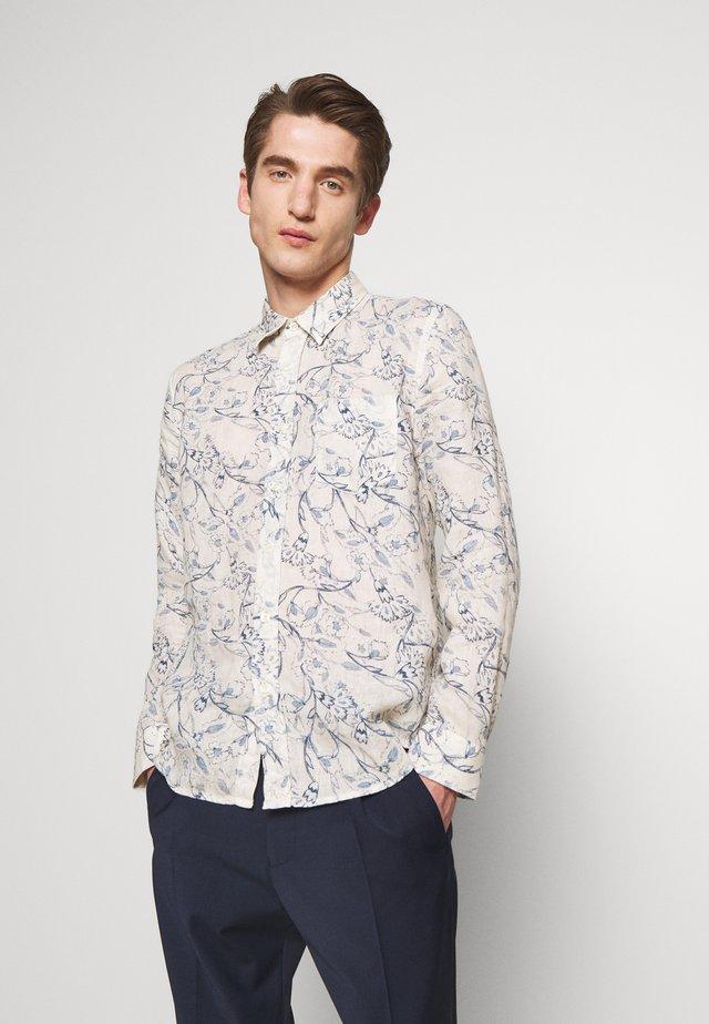FLORAL PRINT - Skjorter - ivory soft fade
