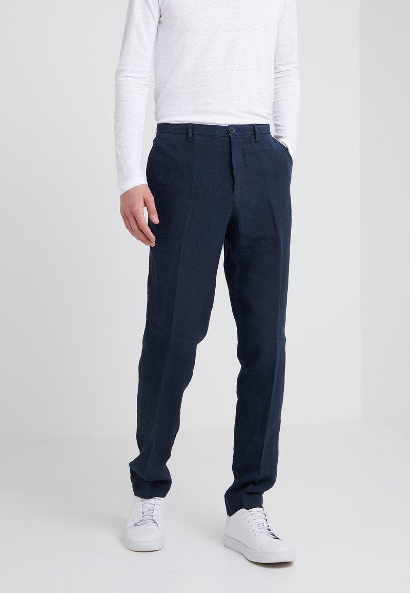 120% Lino - PANTALONE - Trousers - graphite