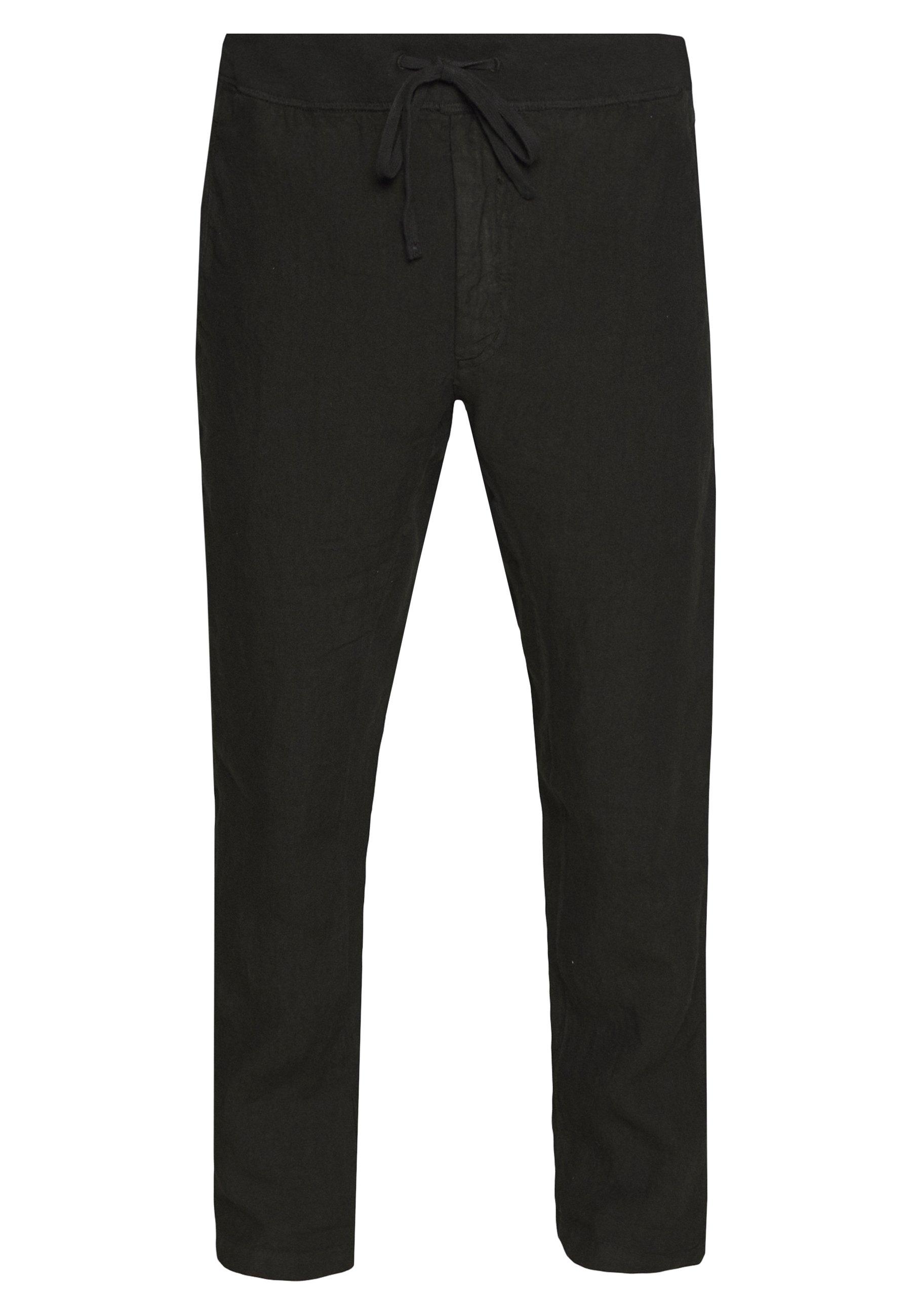 120% Lino Trousers - Tygbyxor Black