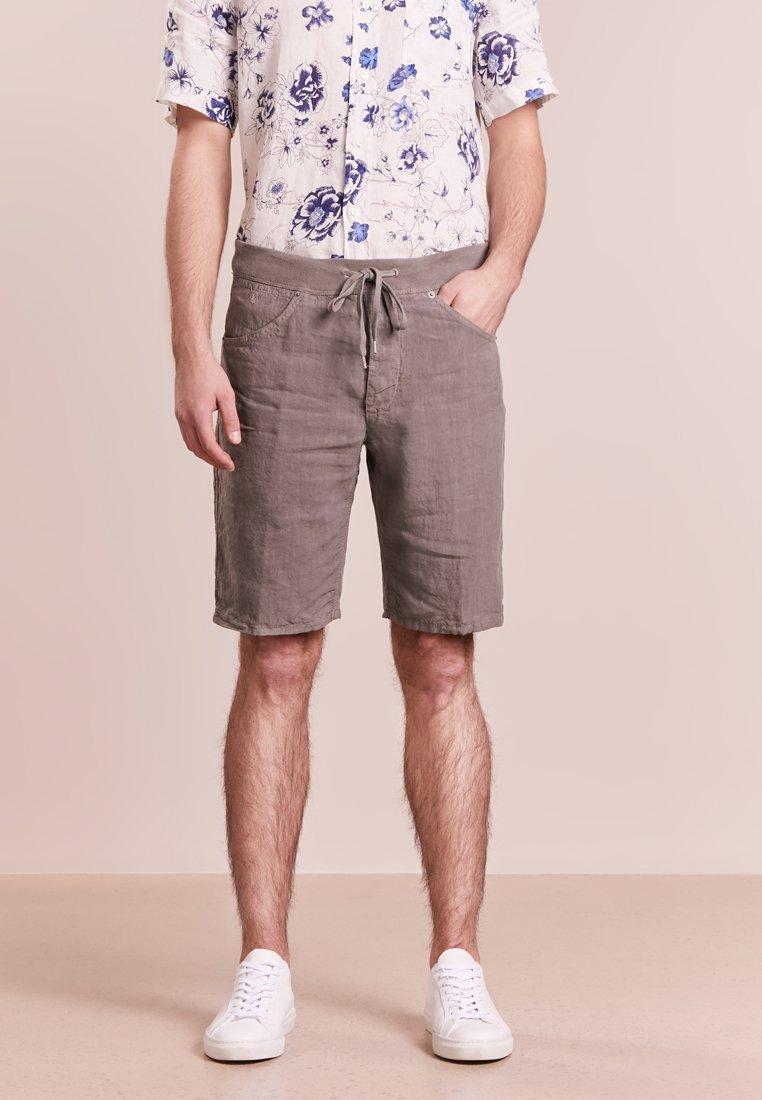 120% Lino - BERMUDA - Shorts - taupe