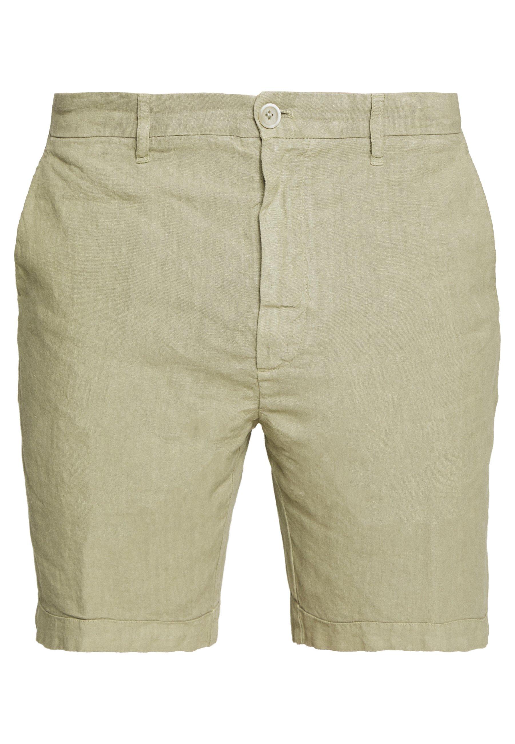 120% Lino Shorts - Olive