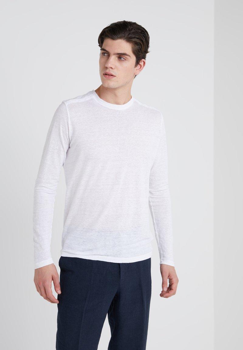 120% Lino - Longsleeve - white