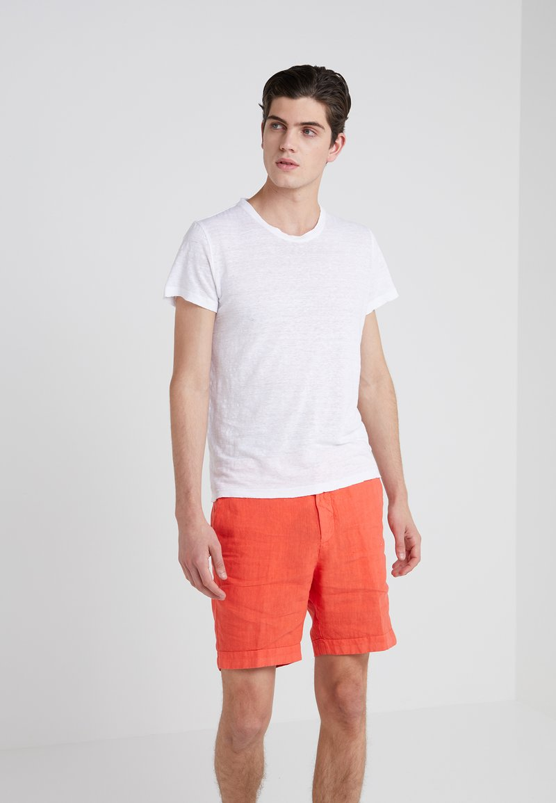 120% Lino - T-Shirt basic - white
