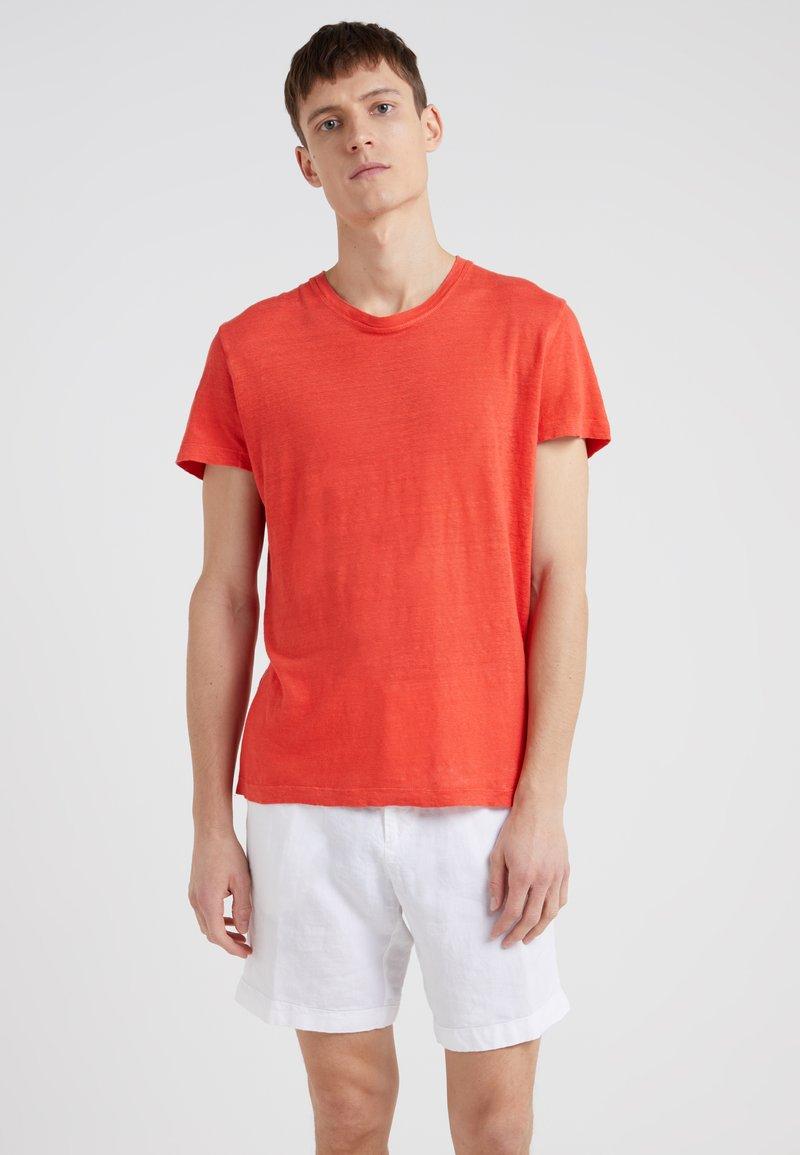 120% Lino - T-shirt basic - grenadine