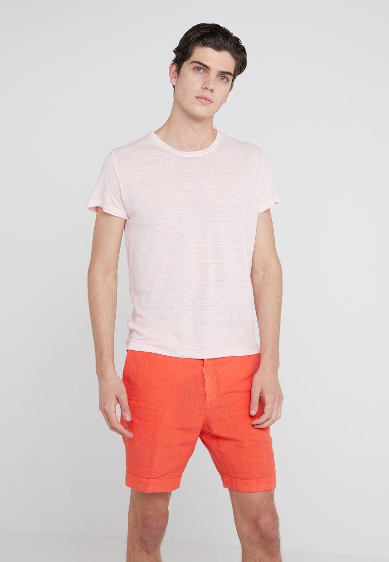 120% Lino - T-shirt basic - blushing