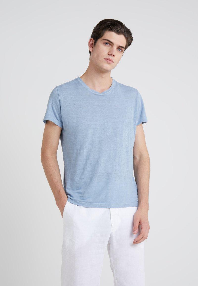 120% Lino - T-shirt basic - powder blue