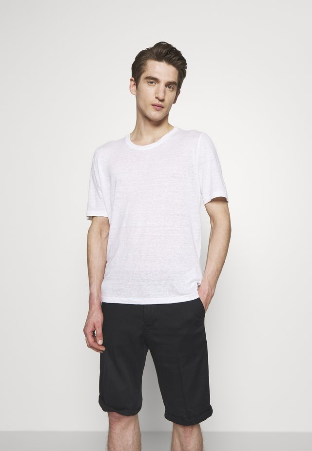 T-shirts basic - white solid