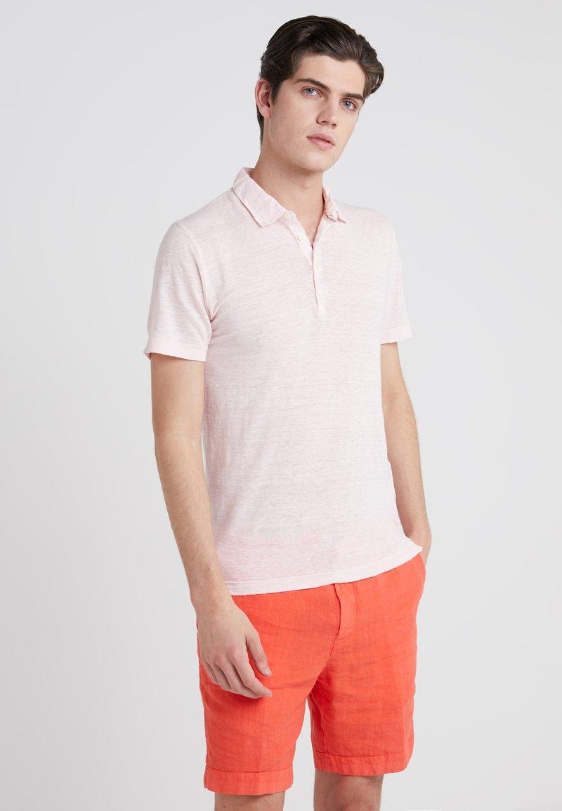 120% Lino - Poloshirt - blushing