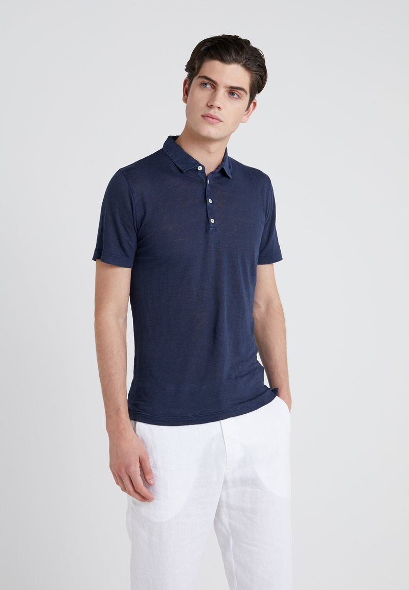 120% Lino - Poloshirt - dark blue
