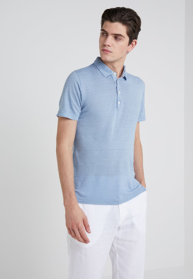 120% Lino - Poloshirt - powder blue