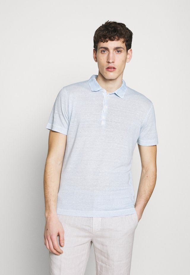 Poloshirts - pacific blue soft fade