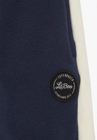 Lil'Boo - BLOCK - Teplákové kalhoty - navy/cream - 3