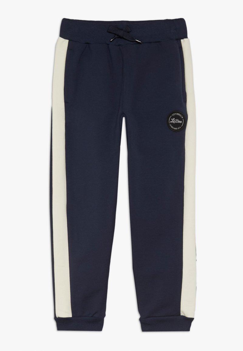 Lil'Boo - BLOCK - Teplákové kalhoty - navy/cream