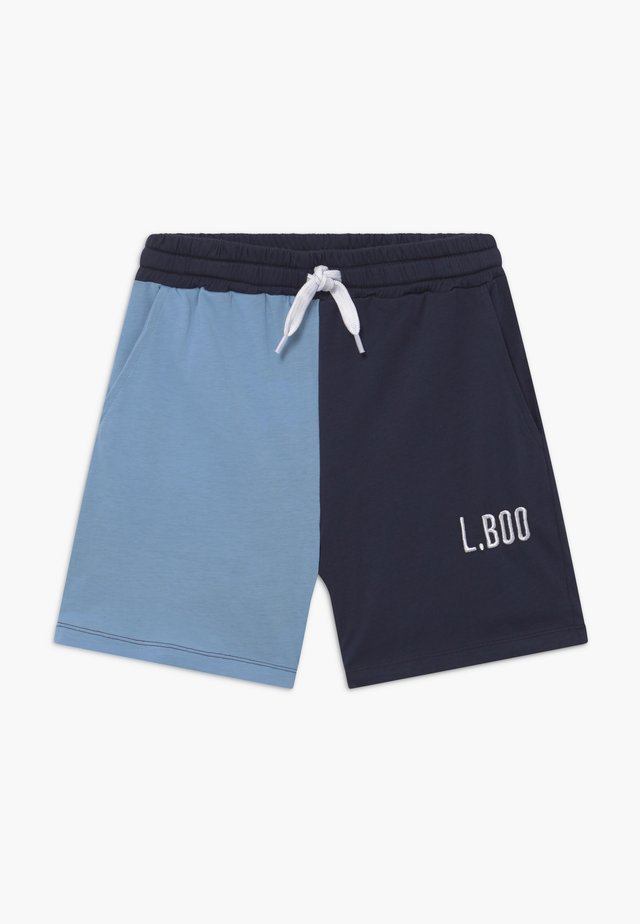 SPLIT - Jogginghose - navy/light blue
