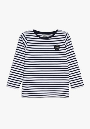CLASSIC STRIPED LONG SLEEVE - Longsleeve - navy/white
