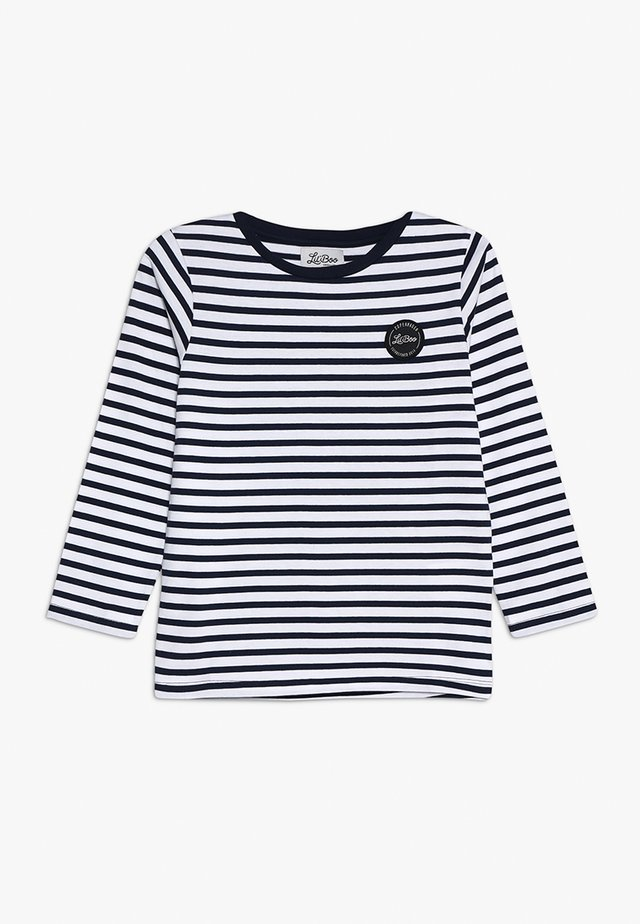 CLASSIC STRIPED LONG SLEEVE - Top s dlouhým rukávem - navy/white