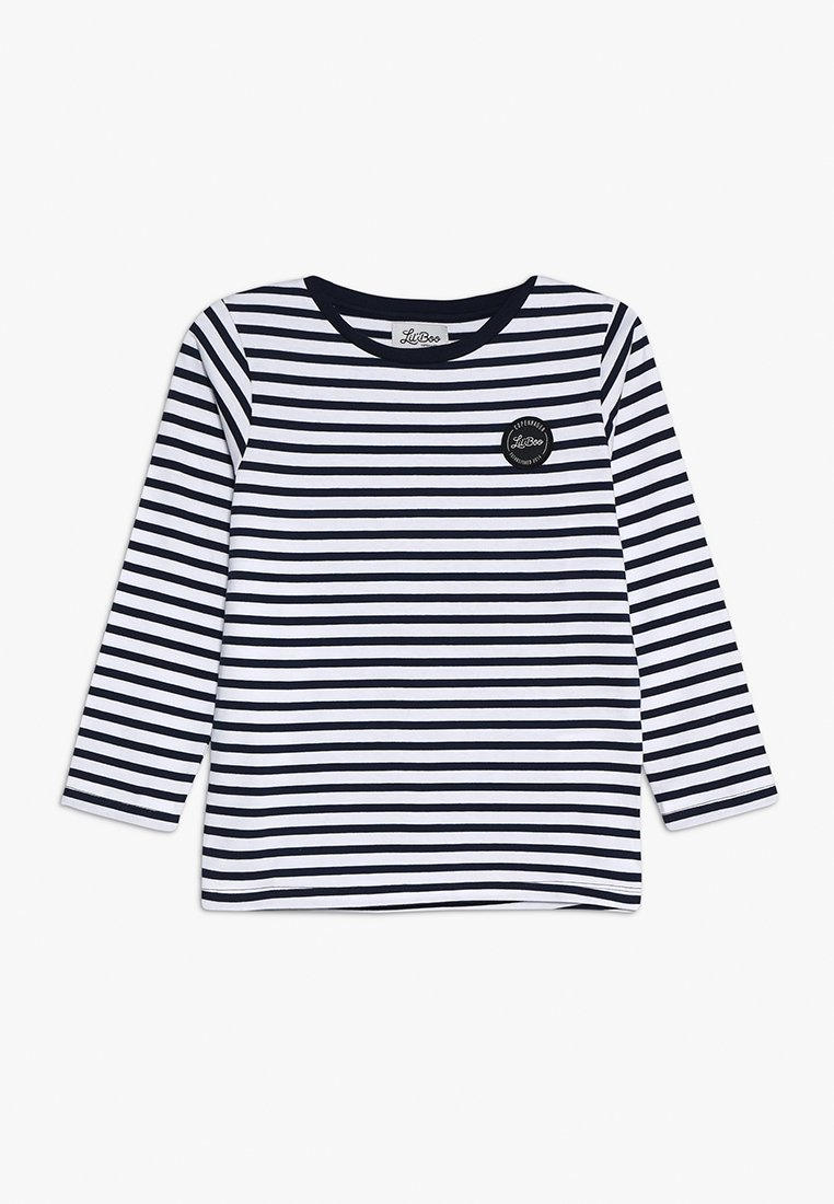 Lil'Boo - CLASSIC STRIPED LONG SLEEVE - Langarmshirt - navy/white