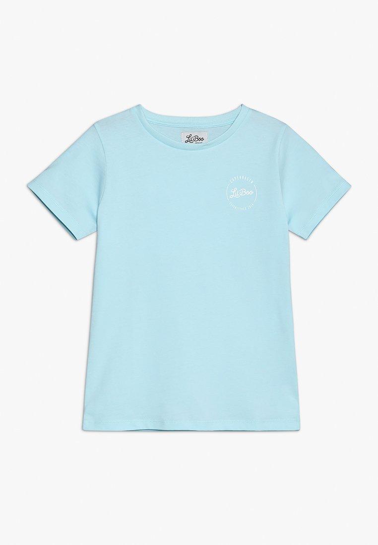 Lil'Boo - DAWN PATROL SHORT SLEEVE - Camiseta estampada - baby blue