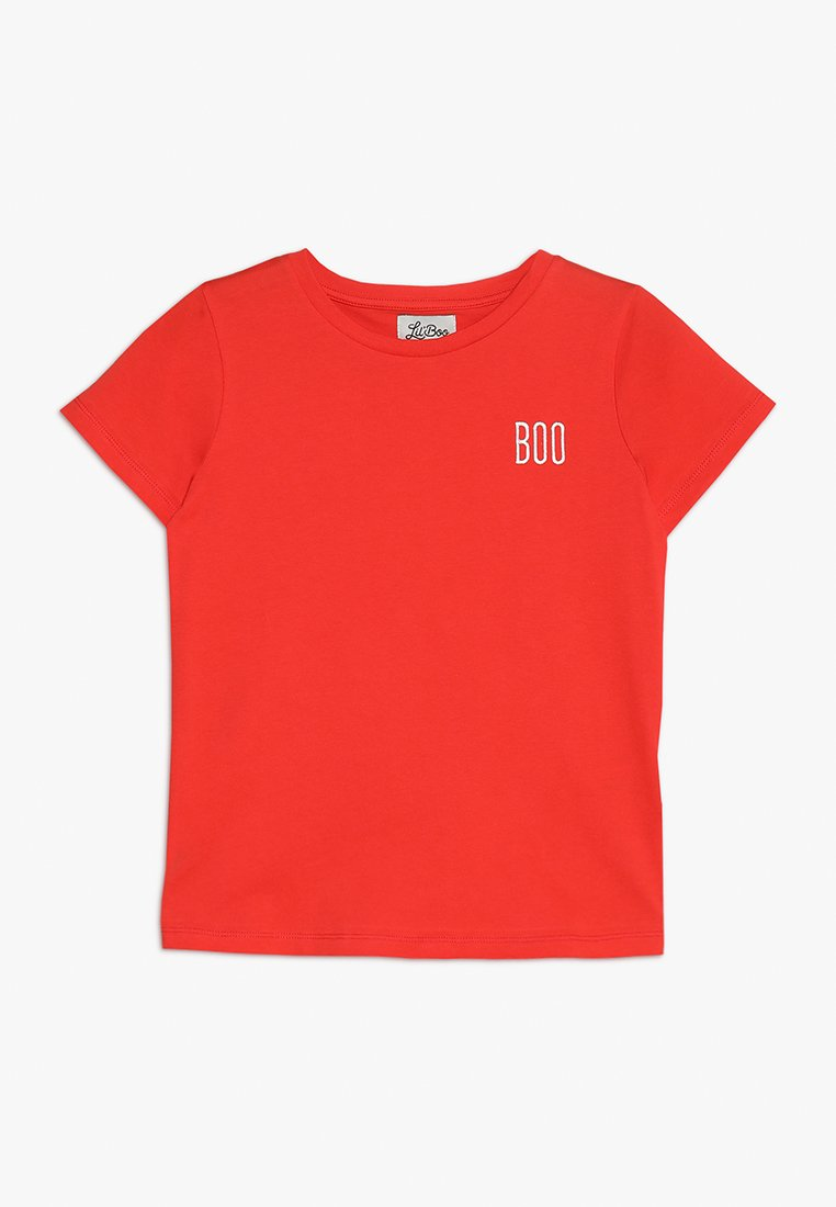 Lil'Boo - SHORT SLEEVE - T-Shirt print - red