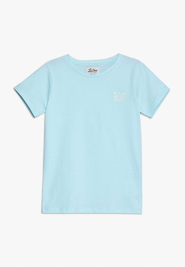 SHORT SLEEVE - T-Shirt print - baby blue