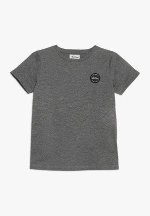 CLASSIC SHORT SLEEVE - Camiseta básica - dark grey melange