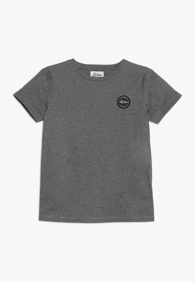 CLASSIC SHORT SLEEVE - Basic T-shirt - dark grey melange