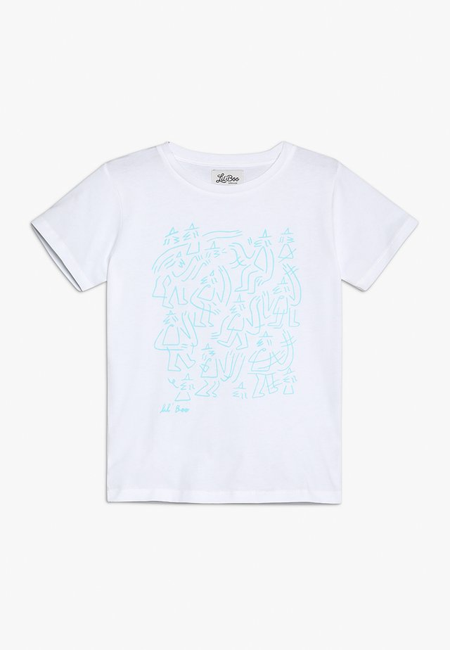 LIL' BOO X LB MONSTER T-SHIRT - Triko spotiskem - white