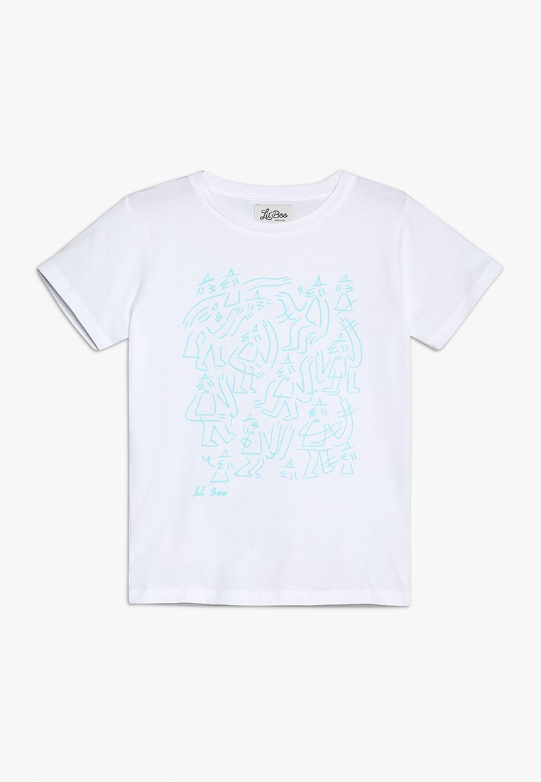 Lil'Boo - LIL' BOO X LB MONSTER T-SHIRT - Camiseta estampada - white