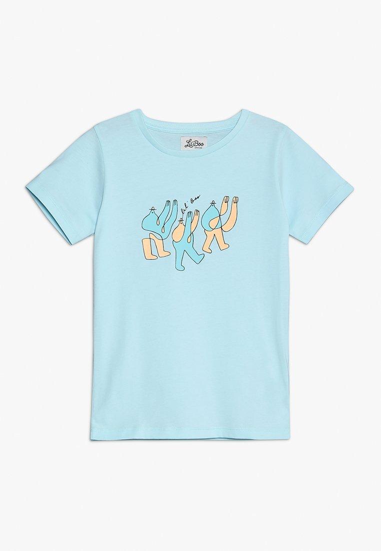 Lil'Boo - LIL' BOO X LB 3 MONSTER T-SHIRT - Print T-shirt - baby blue
