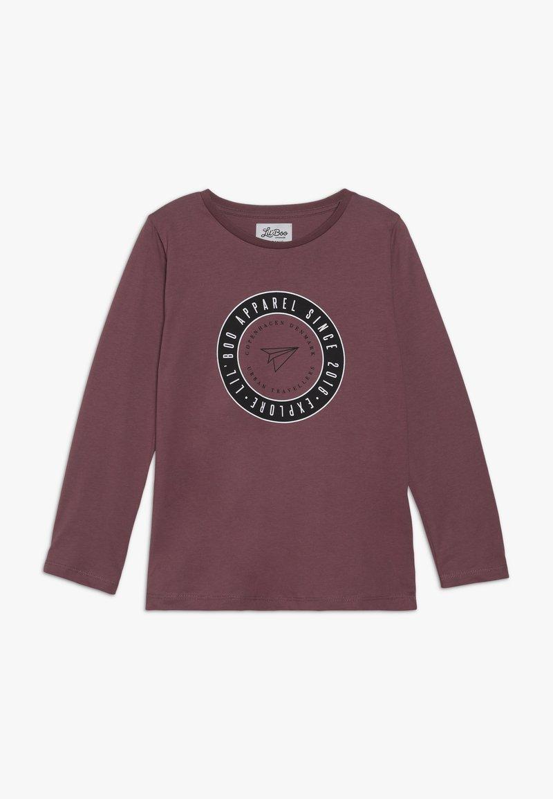 Lil'Boo - EXPLORE LONG SLEEVE - Pitkähihainen paita - renaissance rose