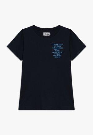 CITIES SHORT SLEEVE - T-Shirt print - navy