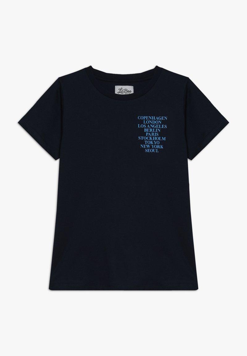 Lil'Boo - CITIES SHORT SLEEVE - Camiseta estampada - navy