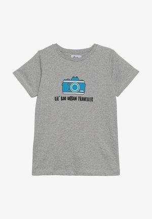 LIL' PHOTOGRAPHER - T-shirt print - light grey melange