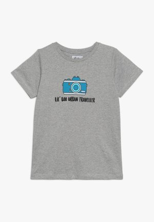 LIL' PHOTOGRAPHER - Camiseta estampada - light grey melange