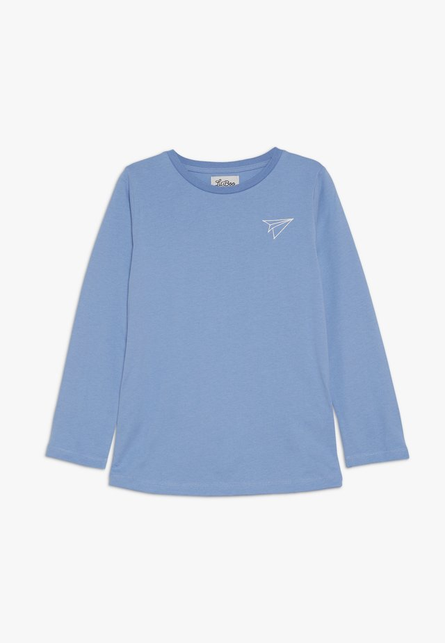 PAPER PLANE LONG SLEEVE - Top s dlouhým rukávem - allure blue